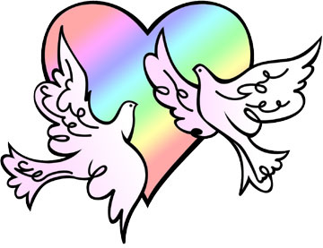 Wedding doves clipart free graphic transparent download Wedding doves clip art | Clipart Panda - Free Clipart Images graphic transparent download