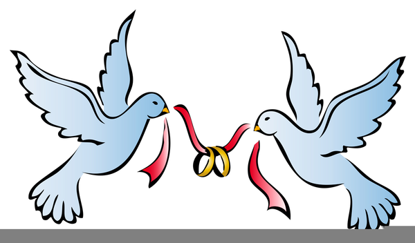 Wedding doves clipart free vector freeuse library Doves Wedding Rings Clipart | Free Images at Clker.com ... vector freeuse library