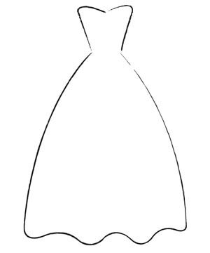 Wedding dresses clipart png library stock Wedding dress: silhouettes - Wedding dresses ... png library stock