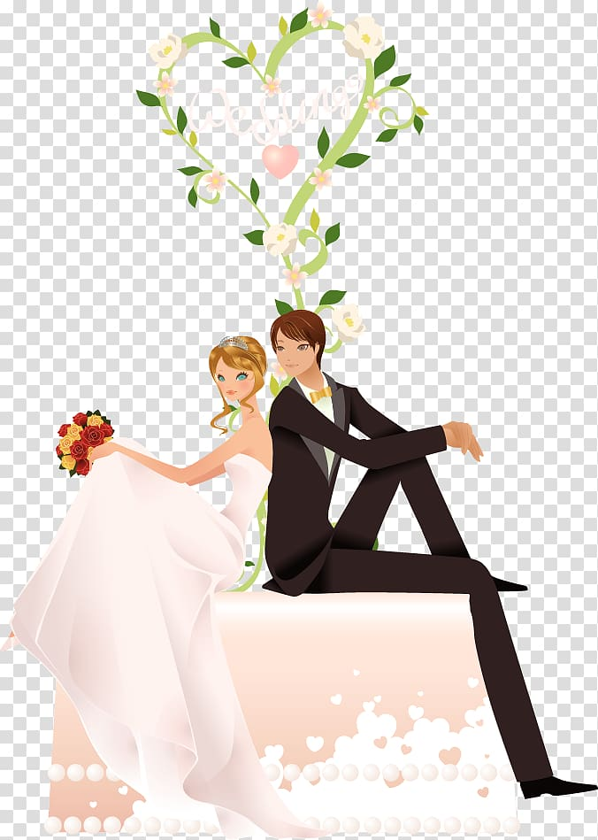Wedding endding clipart clipart library Couple with weddings text , Marriage Wedding Happiness Wish ... clipart library