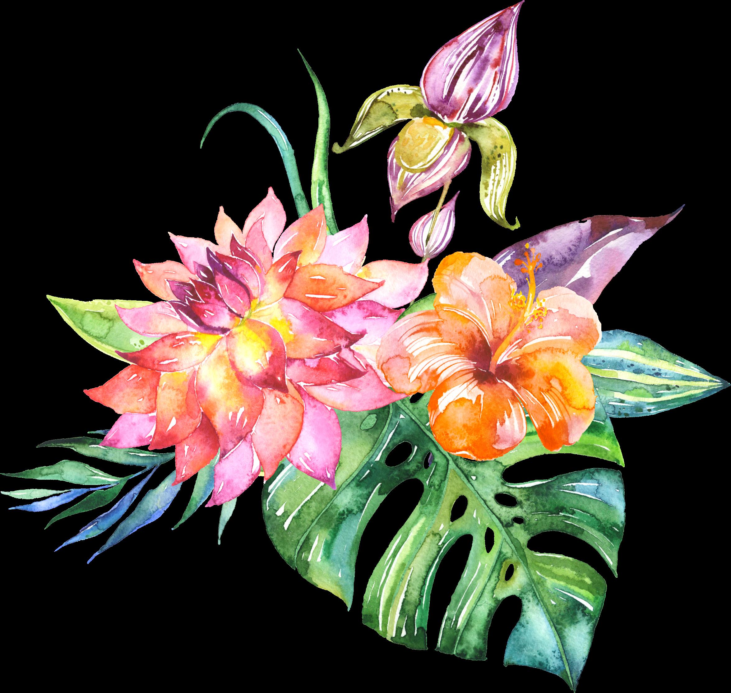 Wedding flower bouquet clipart clip free stock Wedding invitation Cut flowers Watercolor painting Flower bouquet ... clip free stock