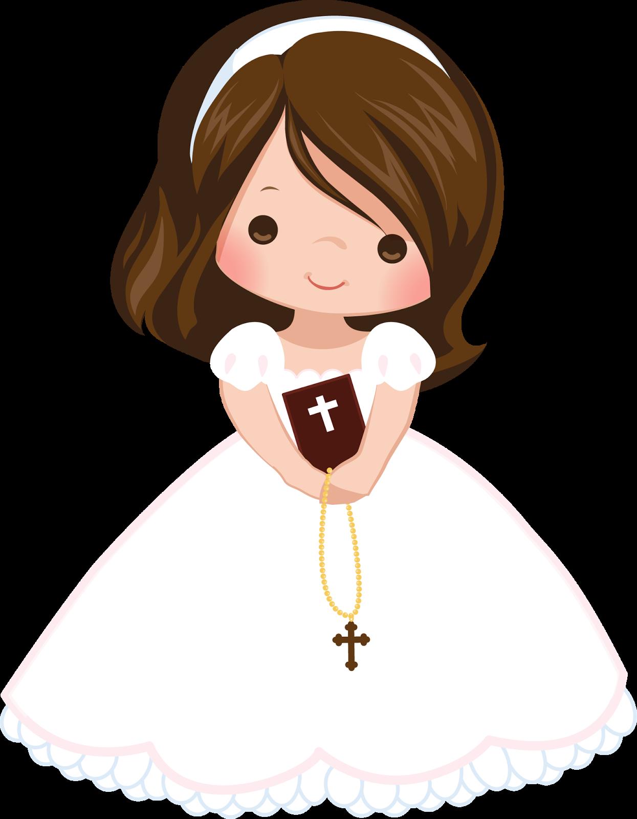 Wedding flower girl clipart clip freeuse Pin by Jeny Chique on primera Comunión para Niñas | Pinterest ... clip freeuse