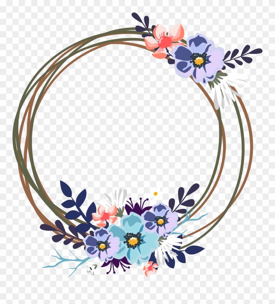Wedding invitation flower clipart clipart free download Flower Svg Library For Wedding Invitations Techflourish ... clipart free download