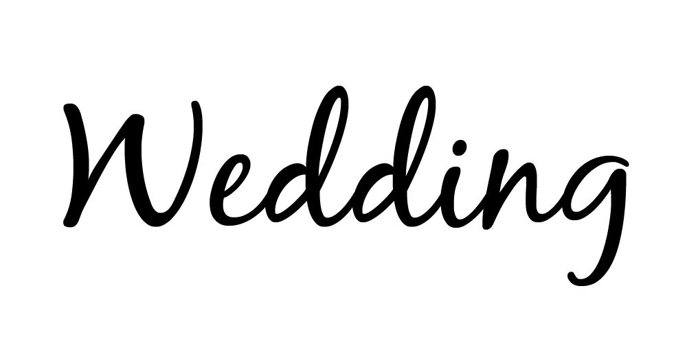 Wedding fonts clipart black and white stock 11 Beautiful Free Wedding Fonts Perfect for Invites black and white stock