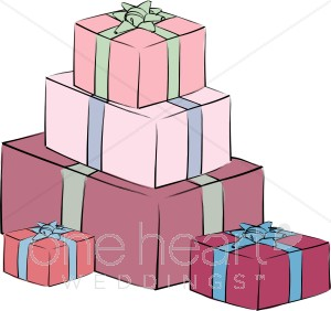 Wedding gift clipart freeuse stock Red Gifts Clipart | Wedding Gift Clipart freeuse stock