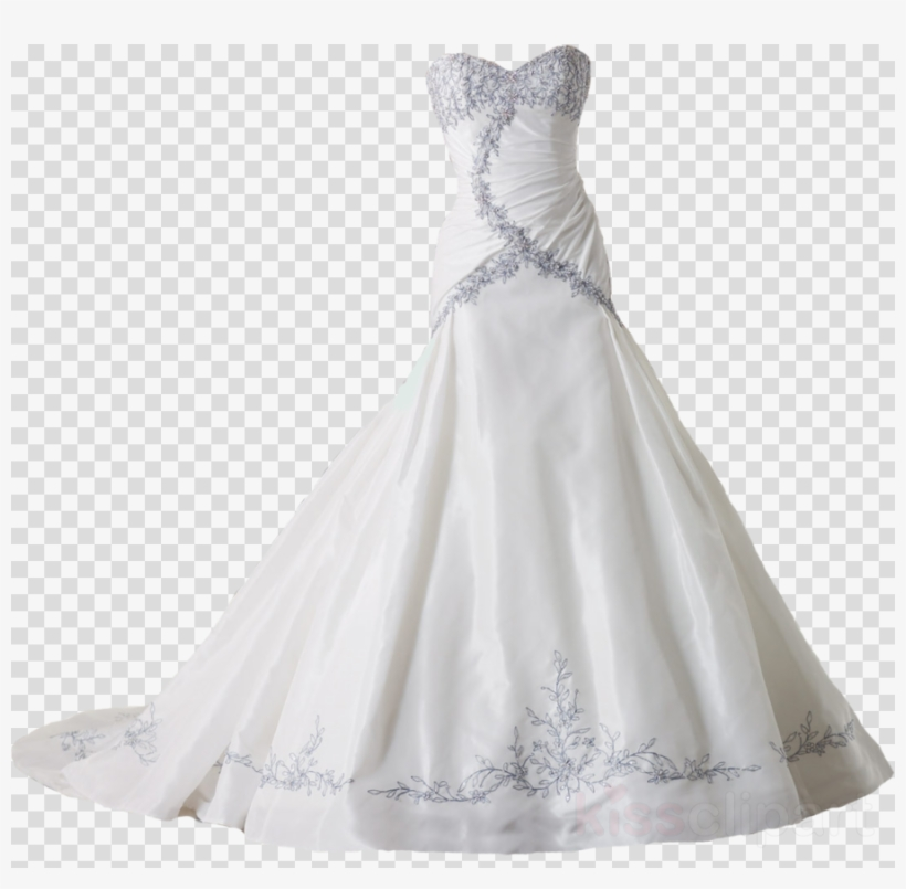 Wedding gown images clipart banner royalty free Download Free png Wedding Gowns Png Clipart Wedding Dress ... banner royalty free