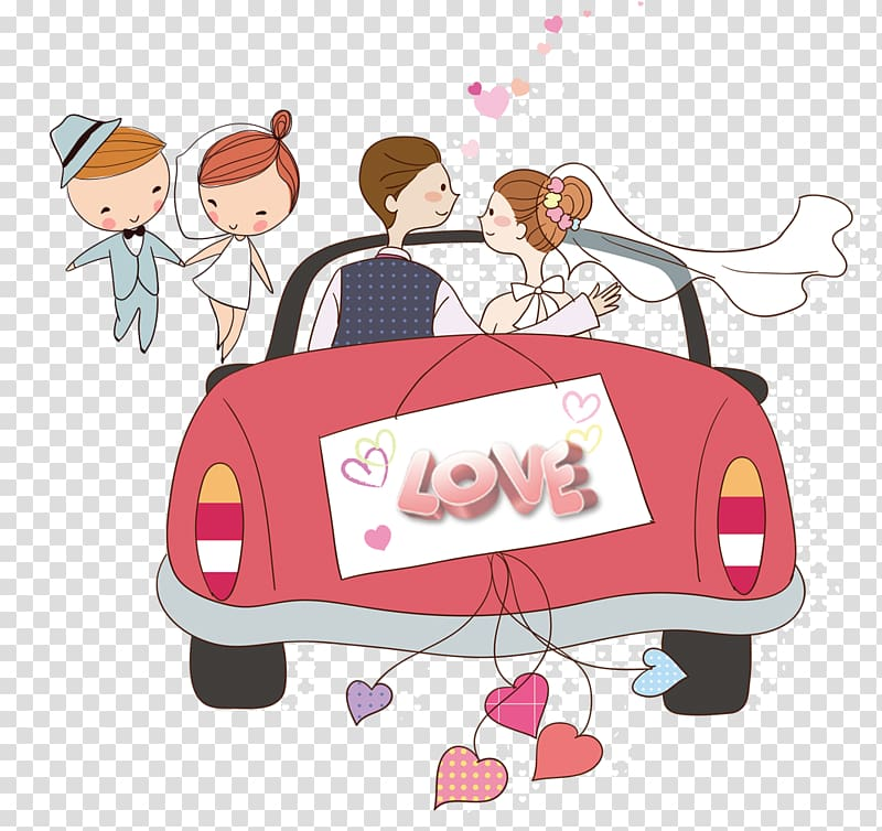 Wedding guest book clipart svg transparent Wedding invitation Wedding Guestbook Bride, Cartoon wedding ... svg transparent