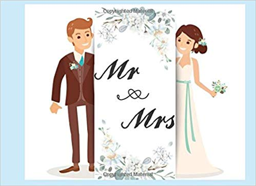 Wedding guest clipart vector freeuse stock Mr & Mrs: Wedding Guest Book For 436 Persons Left Line For ... vector freeuse stock