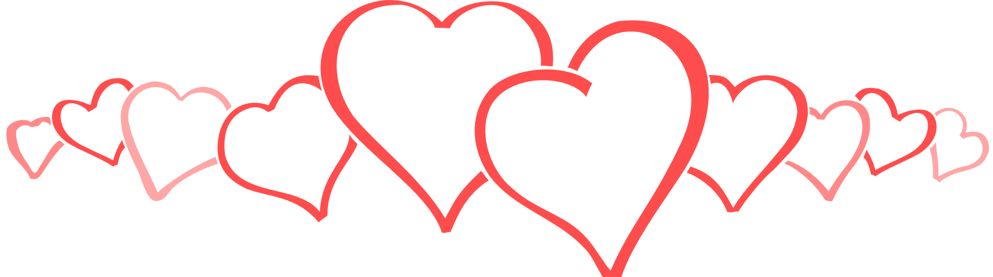 Heart lines clipart svg library Valentine Heart Clipart at GetDrawings.com | Free for personal use ... svg library