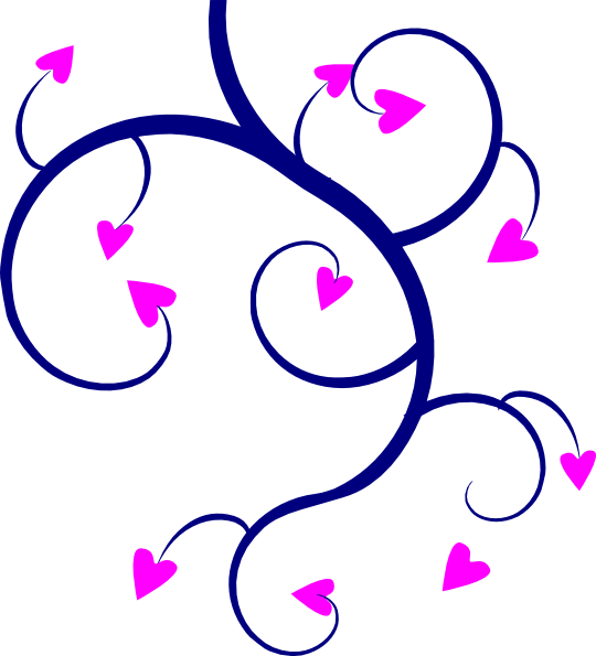 Wedding hearts clip art image library library Swirl Hearts Clip Art at Clker.com - vector clip art online, royalty ... image library library