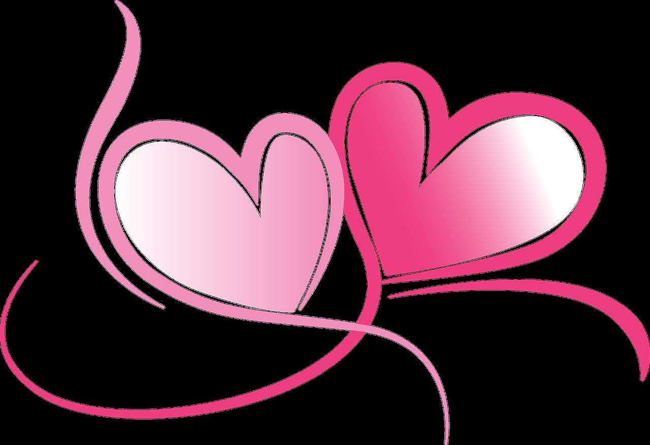 Wedding hearts clip art png royalty free Free Image on Pixabay - Hearts, Love, Drawing, Wedding | Wedding and ... png royalty free
