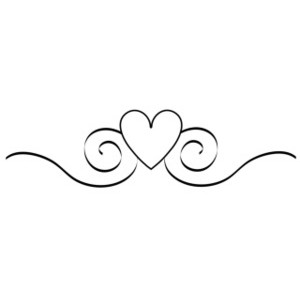 Wedding hearts clipart black and white jpg free download Black and white wedding border clipart - ClipartFest jpg free download
