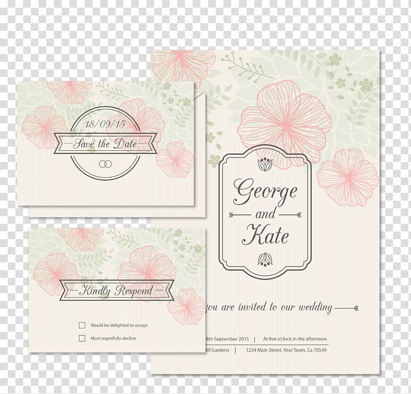 Wedding invitation clipart free download jpg transparent stock Free download   George and Kate poster, Wedding invitation ... jpg transparent stock