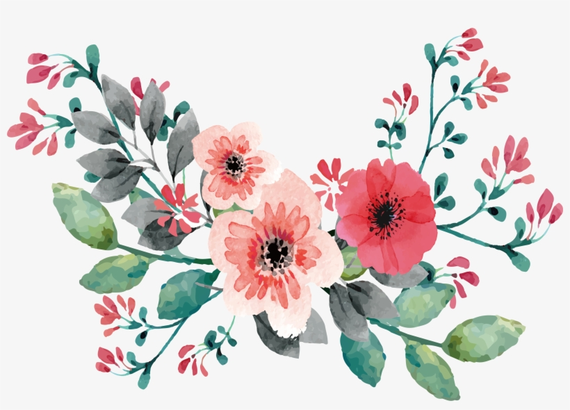 Wedding invitation flower clipart png transparent library Png Free Download Wedding Invitation Flower Painting ... png transparent library