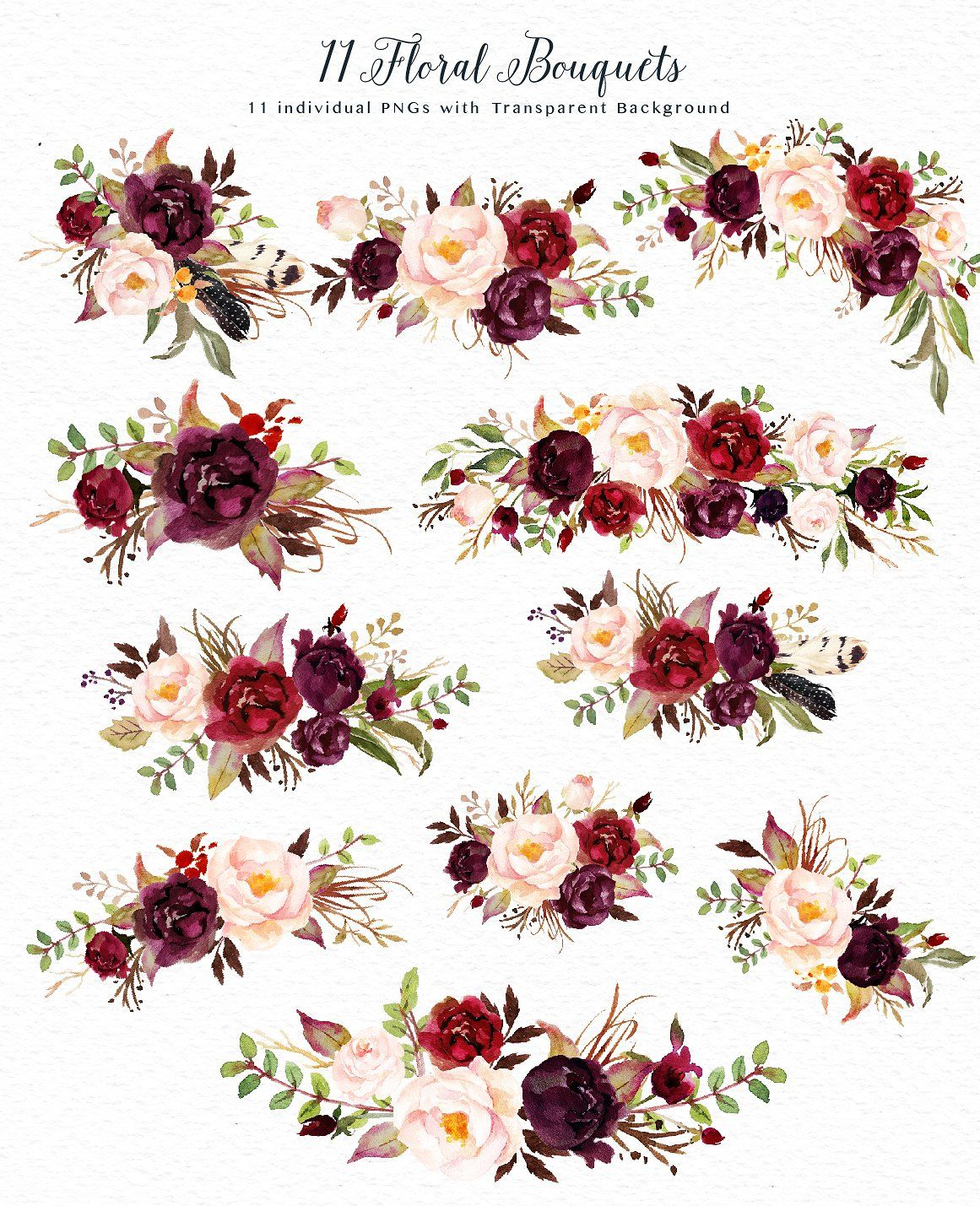 Wedding invitation flower clipart image library library Design tools | Great floral garland designs for wedding ... image library library