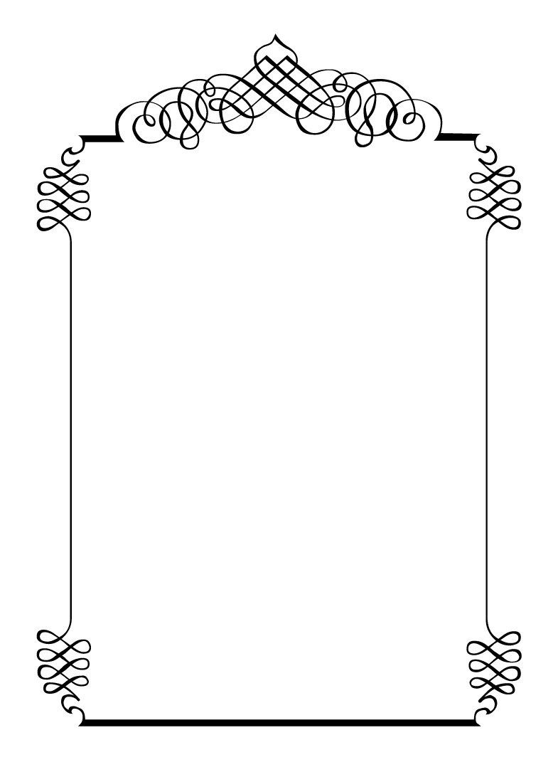 Wedding invitation frame clipart image royalty free stock 29+ Best Picture of Wedding Invitation Frame | Sample ... image royalty free stock