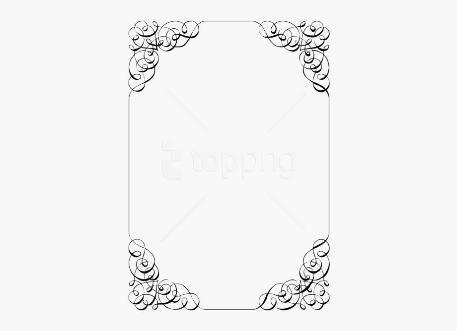 Wedding invitation frame clipart picture black and white download Invitation Border Png - Wedding Invitation Frame Png ... picture black and white download