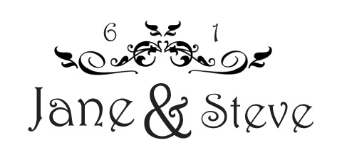 Wedding logo clipart vector transparent stock Design Your Own Wedding Logo or Monogram vector transparent stock