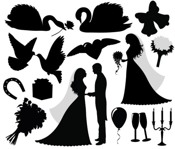 Wedding logo vector clipart banner Free Free Wedding Vectors, Download Free Clip Art, Free Clip ... banner
