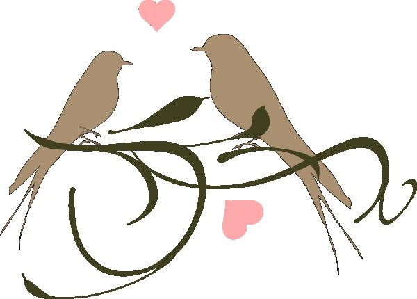 Wedding love bird clipart clip art royalty free Wedding Love Birds Clip Art Clipart | Thread Sketching ... clip art royalty free