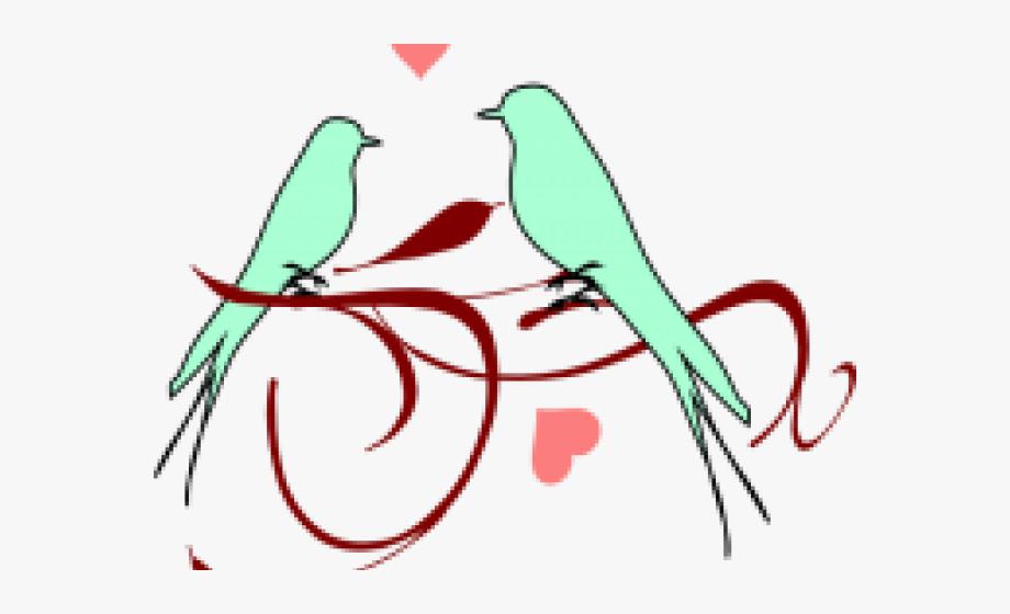 Wedding love bird clipart graphic royalty free library Love Bird Clipart - Wedding Love Clip Art #2331365 - Free ... graphic royalty free library