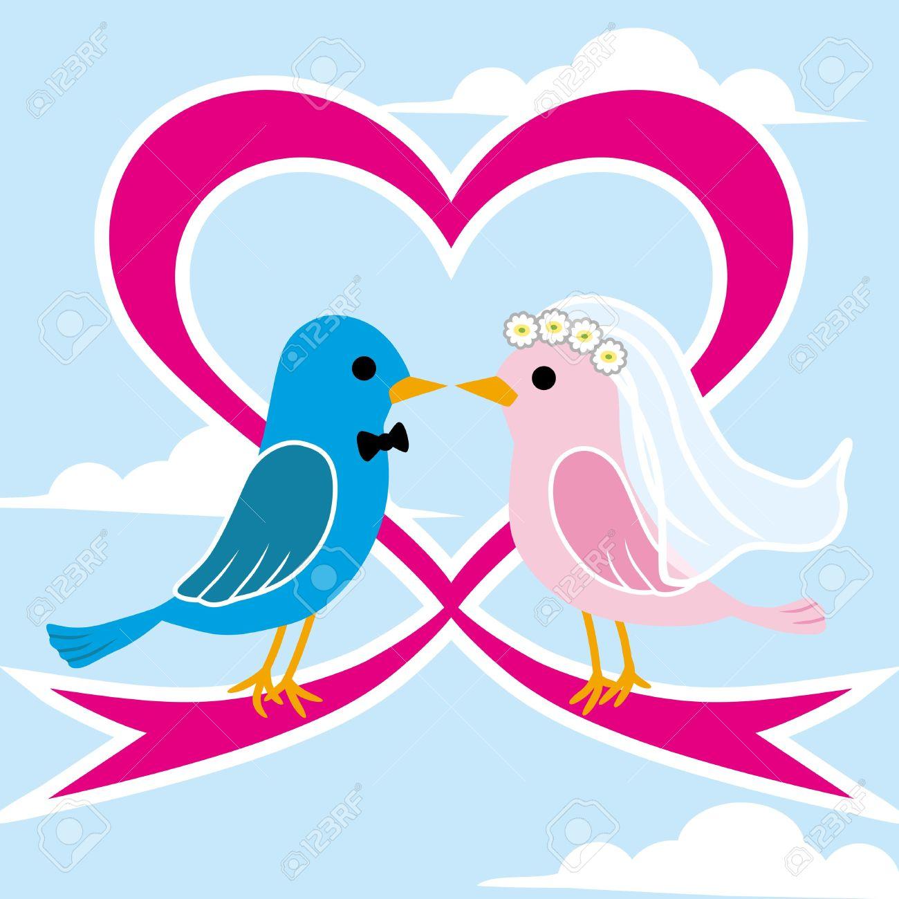 Wedding love bird clipart svg Love Birds Clipart Wedding | Free download best Love Birds ... svg