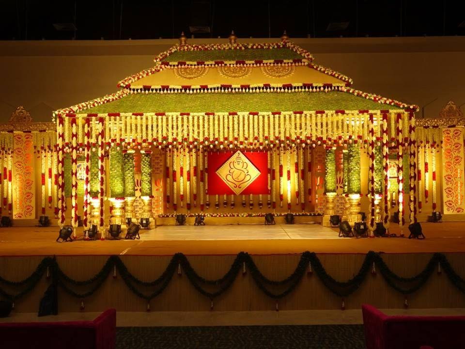 Wedding mantapa color clipart vector transparent Beautiful Wedding Decor   Indian Wedding Decor Ideas ... vector transparent