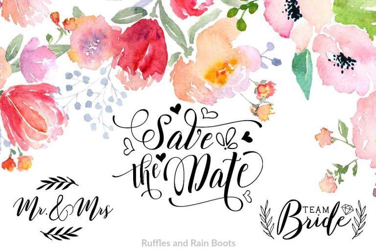 Wedding menu clipart free graphic royalty free library Free Wedding Fonts and Free Wedding Clipart | Wedding ... graphic royalty free library