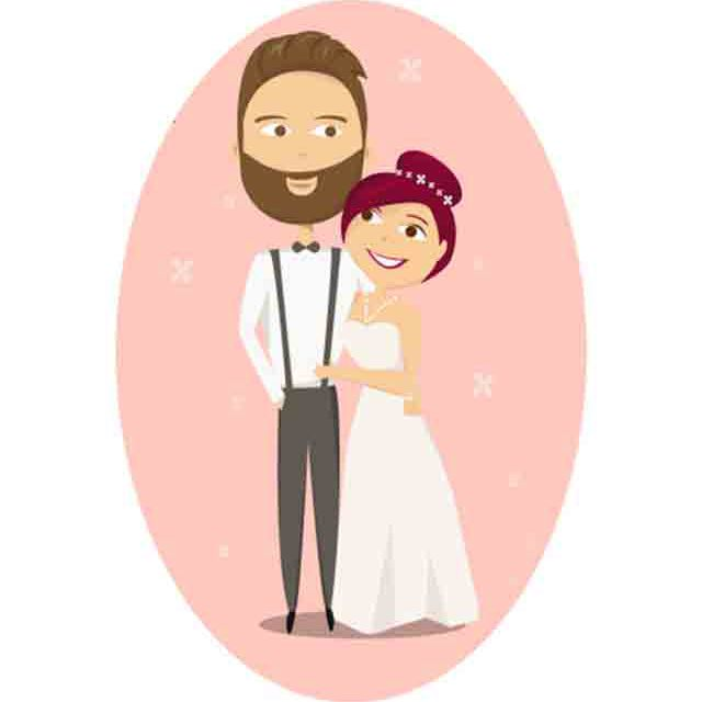 Wedding photo clipart vector freeuse 9 Places to Download Free Wedding Clipart vector freeuse