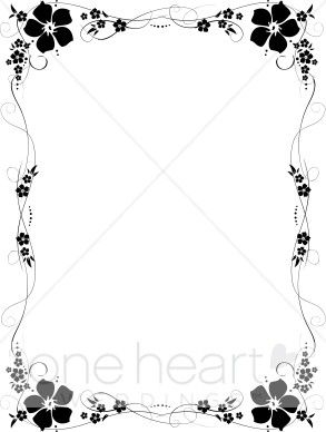 Wedding program clipart borders png library library Wedding Program Borders | Borders for labels | Wedding ... png library library