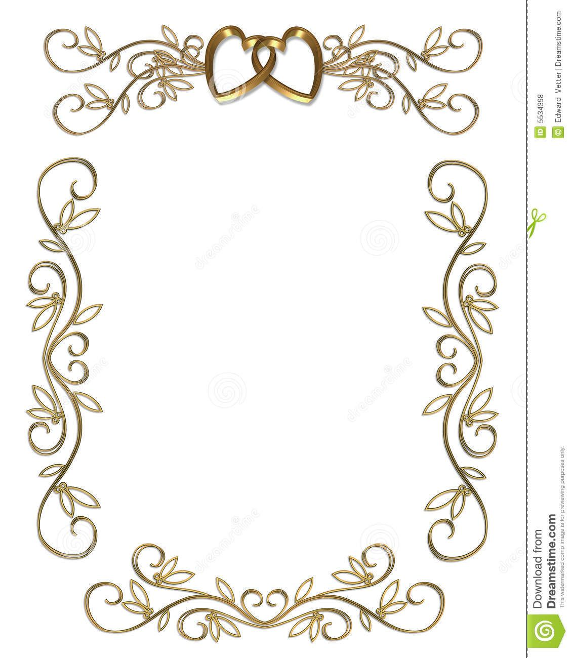 Wedding program borders clipart png library download Image result for wedding program borders free download ... png library download
