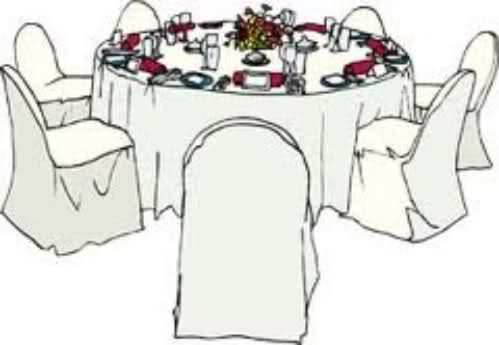 Wedding table clipart png freeuse library Wedding reception chair clipart 2 » Clipart Portal png freeuse library