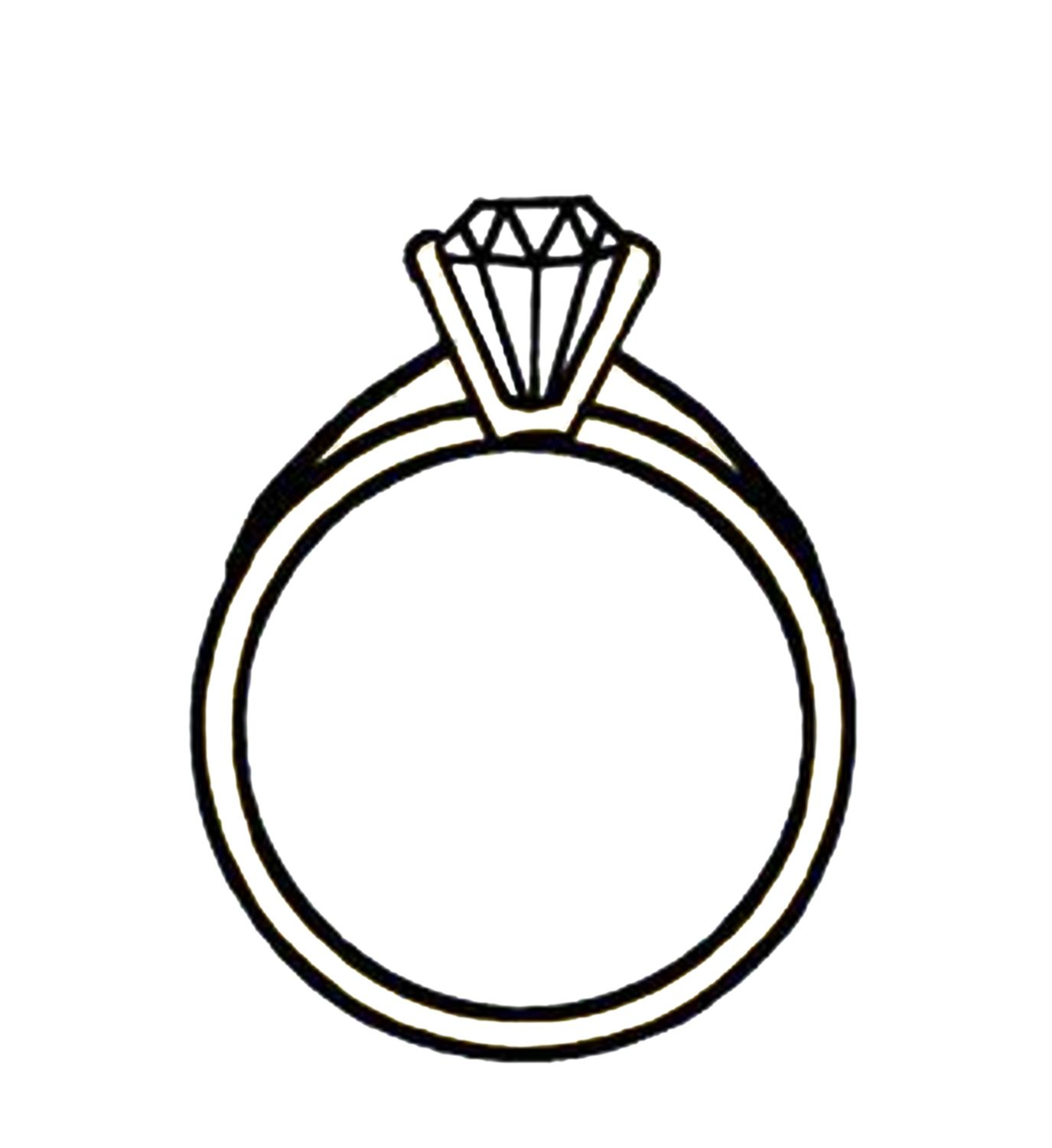 Wedding ring clipart drawings vector freeuse stock Pin by Hendro birowo on elegant wedding ring sets ... vector freeuse stock