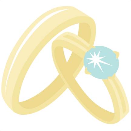 Wedding ring clipart file picture library download Wedding Rings SVG scrapbook cut file cute clipart files for ... picture library download