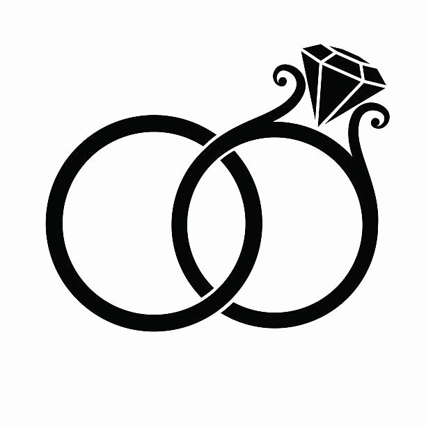 Wedding rings clipart vector svg freeuse stock Wedding Rings Clipart New Royalty Free Wedding Ring Clip Art ... svg freeuse stock