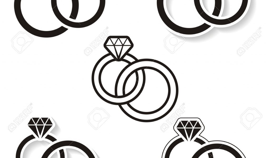 Wedding ring clipart vector transparent download Wedding Ring Drawing   Free download best Wedding Ring ... transparent download