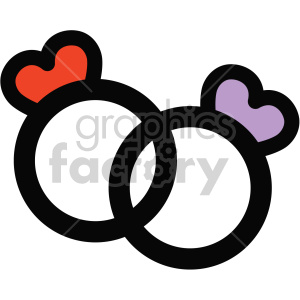 Wedding ring icon clipart clip art freeuse wedding rings icon . Royalty-free icon # 407507 clip art freeuse