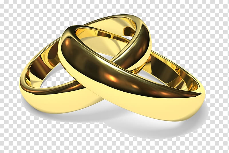 Wedding ring png clipart clipart freeuse Two gold-colored rings, Wedding ring Engagement ring, Ring ... clipart freeuse