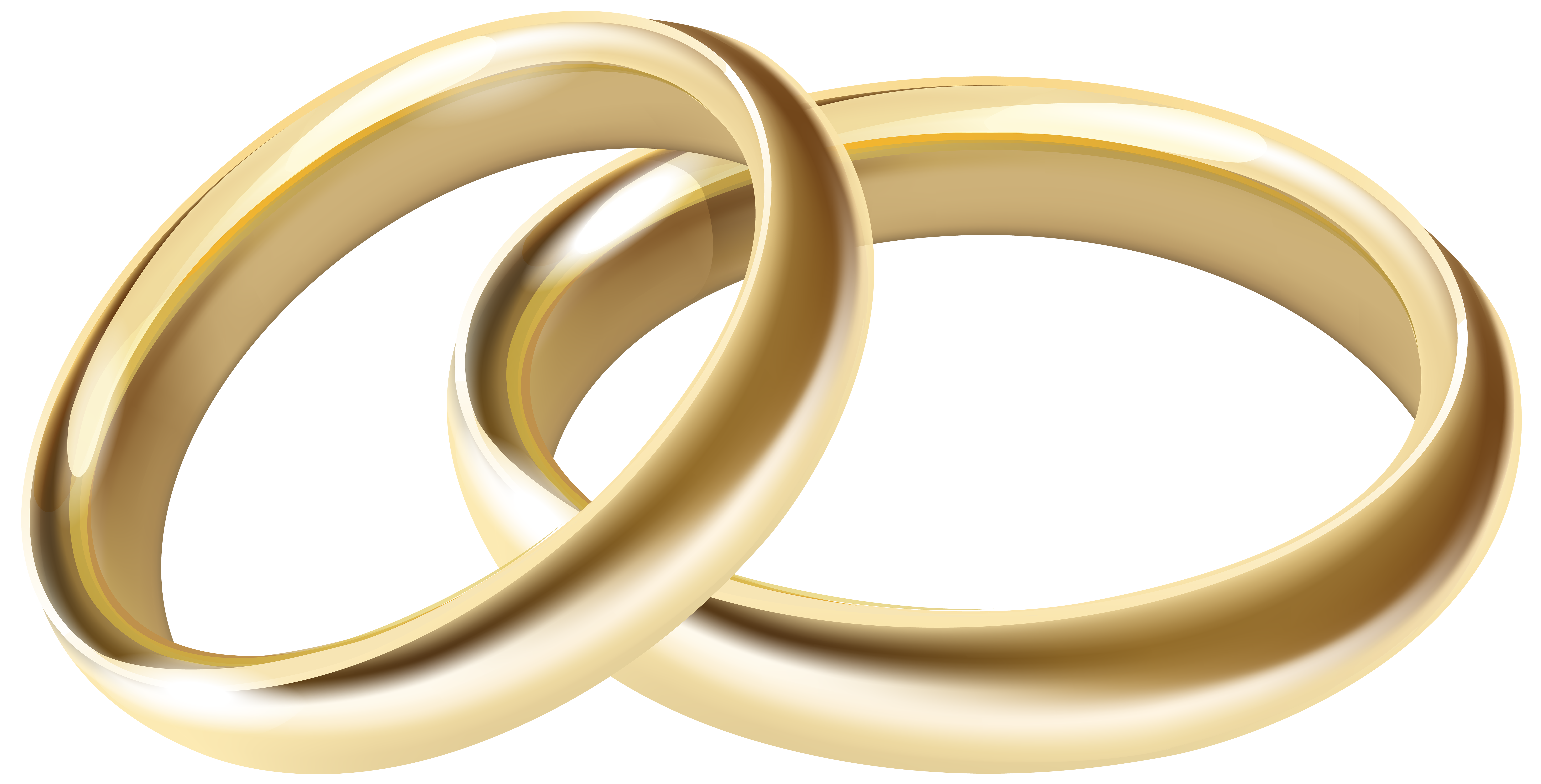 Wedding rings heart clipart picture transparent Wedding Rings Transparent PNG Clip Art Image | Gallery Yopriceville ... picture transparent