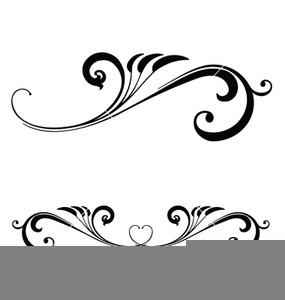 Wedding scroll clipart free image stock Wedding Scroll Work Clipart | Free Images at Clker.com ... image stock