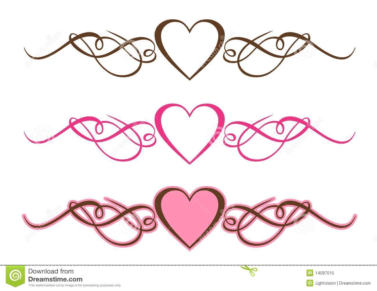 Wedding scroll heart clipart banner royalty free Free Scrollwork Heart Cliparts, Download Free Clip Art, Free ... banner royalty free