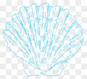 Wedding seashell clipart clip royalty free Download Free png Turquoise Shell Opaque Clip Art At Clker ... clip royalty free