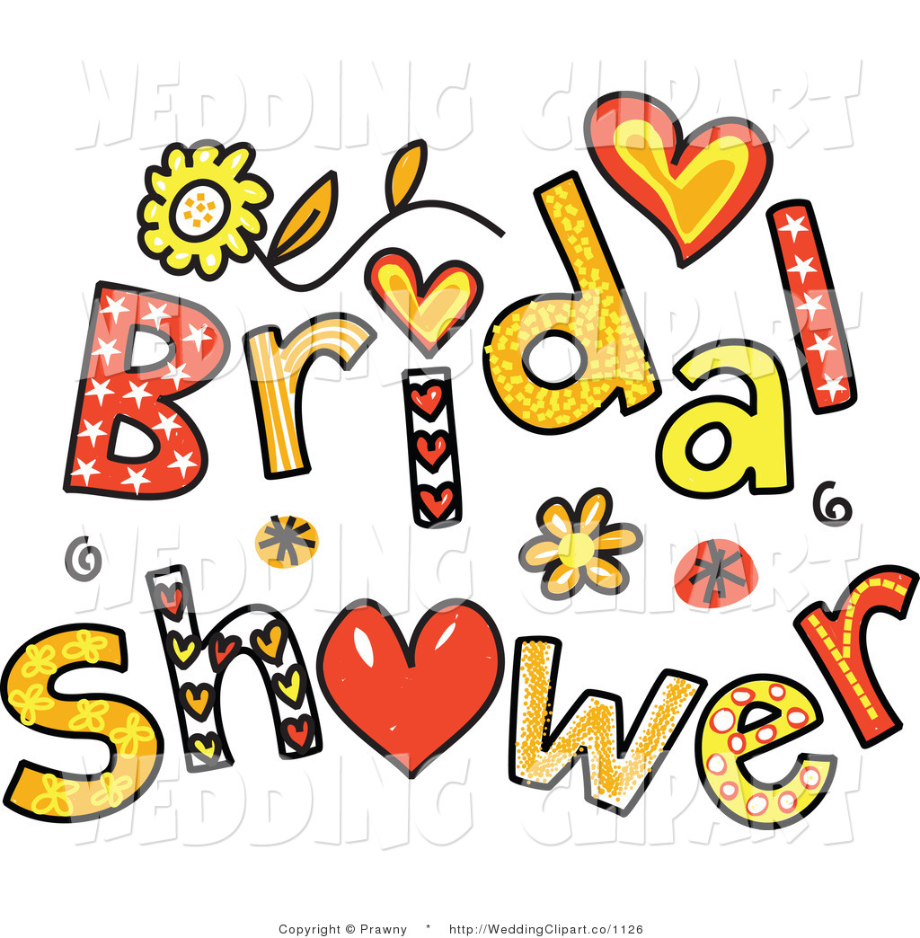 Wedding shower clip art png black and white stock Clipart bridal shower - ClipartFest png black and white stock
