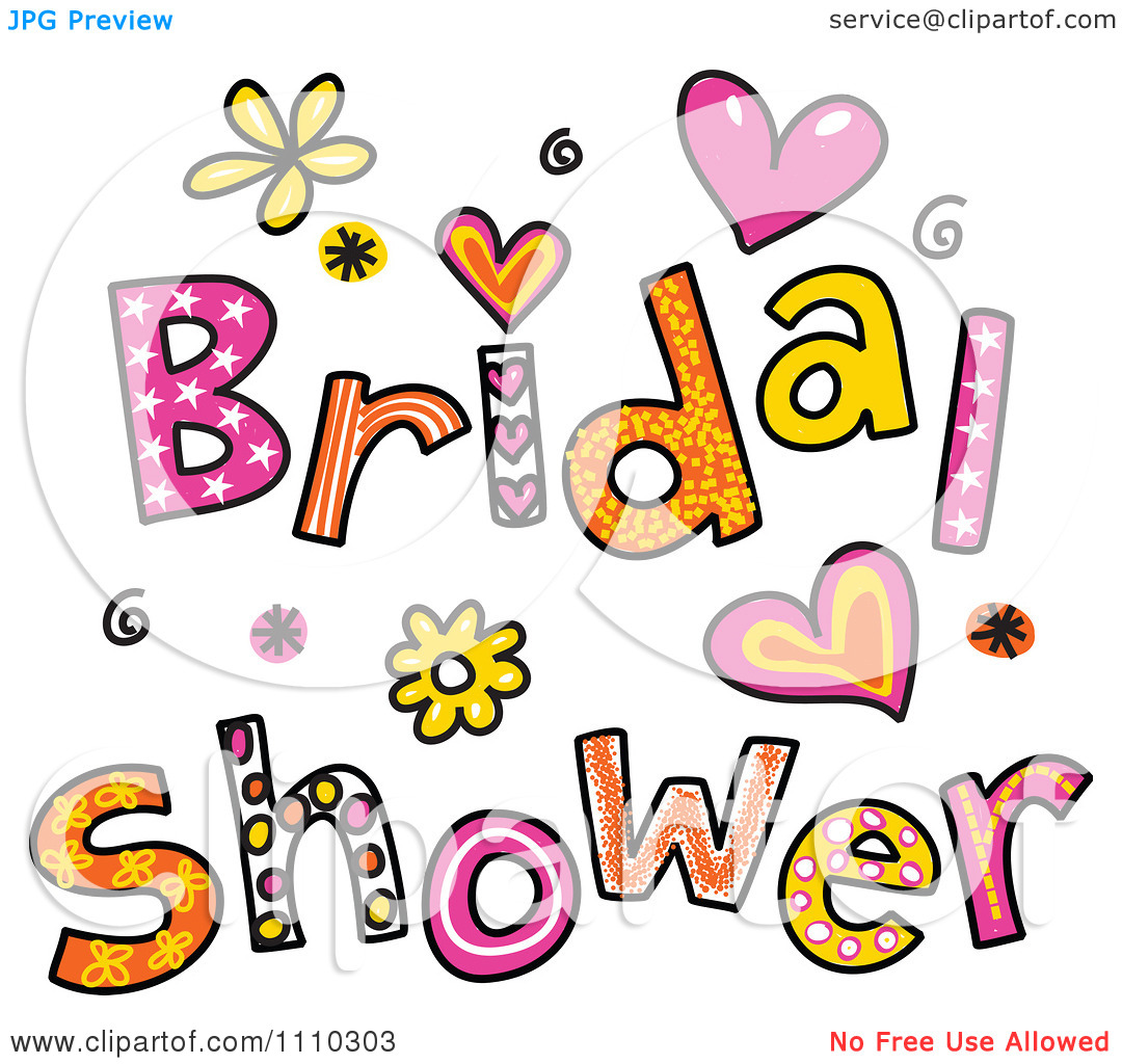 Wedding shower clip art banner free stock Bridal Shower Images Clip Art & Bridal Shower Images Clip Art Clip ... banner free stock