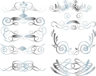 Wedding silver clipart graphic black and white library Silver wedding clipart, Wedding digital frames, Digital clip Art graphic black and white library