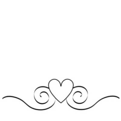 Wedding swirl clipart png vector black and white Download Free png Wedding Swirl Clipart - DLPNG.com vector black and white
