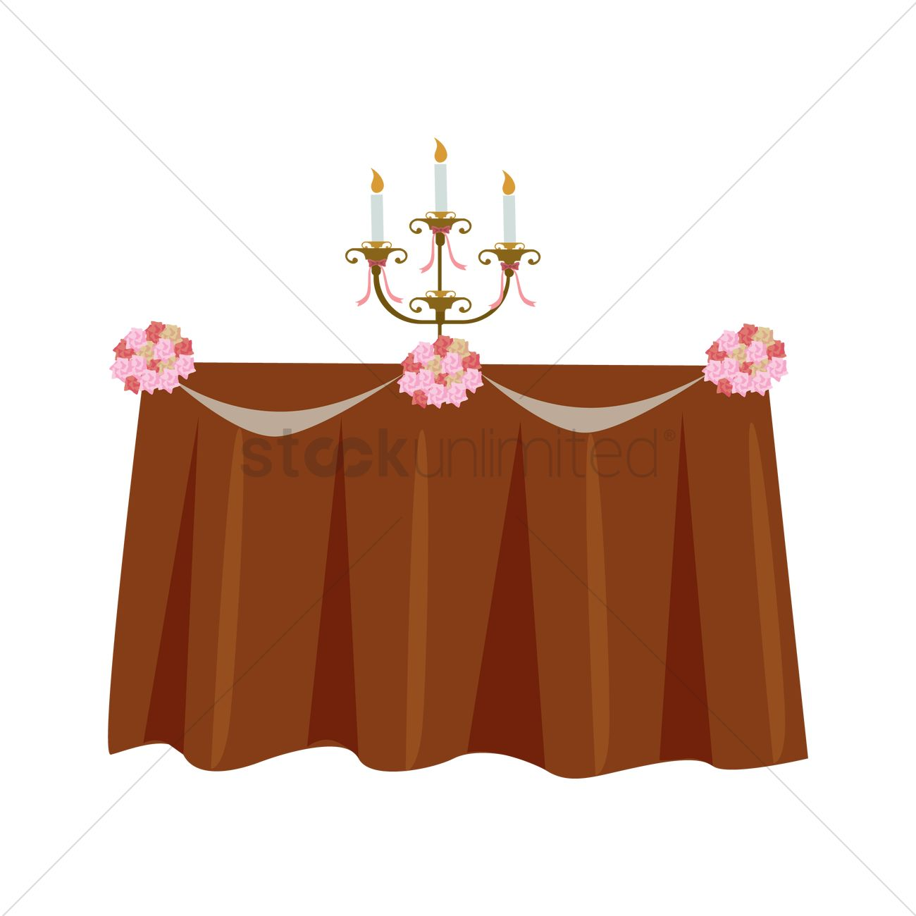 Wedding tables clipart svg free Free Wedding table decoration Vector Image - 1345703 ... svg free