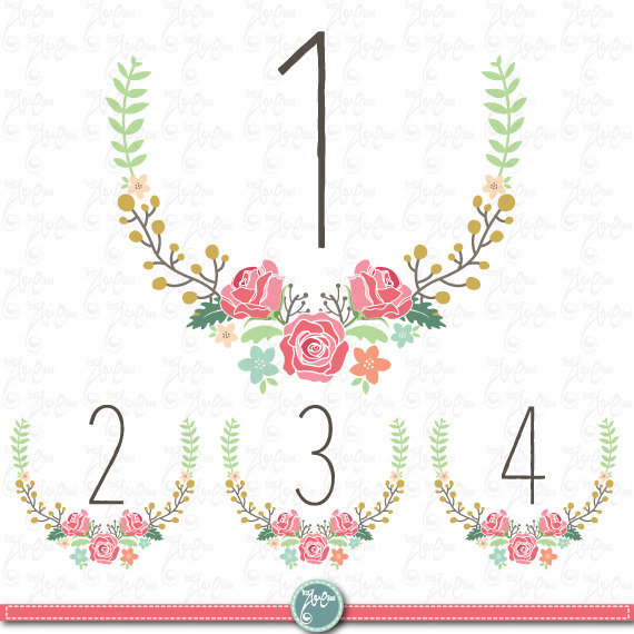 Wedding tables clipart image freeuse download Wedding Clipart pack \