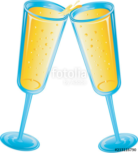 Wedding toast clipart vector svg library library Wedding Toast Icon\