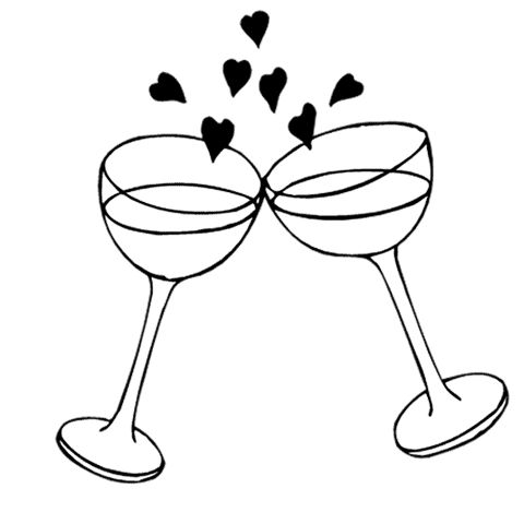 Wedding toast clipart vector clip art transparent stock Toast Clipart | Free download best Toast Clipart on ... clip art transparent stock